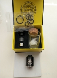 PETRI 22 RDA (Clone), Goon 22 RDA (Clone) и комплект Coil master 6 in 1 488