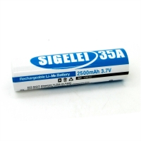 Аккумулятор SIGELEI 2500MAH 35A RECHARGEABLE BATTERY